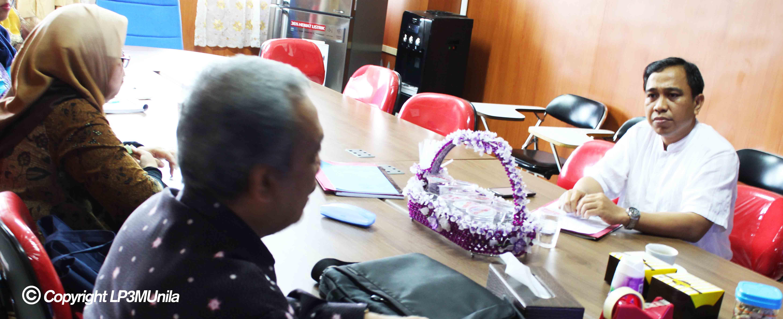 Anggota Tim Penjaminan Mutu Universitas TAdulako lakukan Kunjungan Kerja ke LP3M Unila